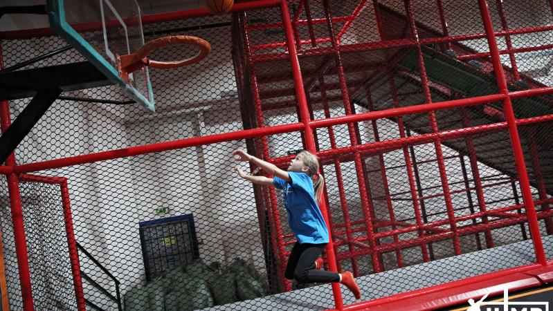 Slam dunk - Košíková