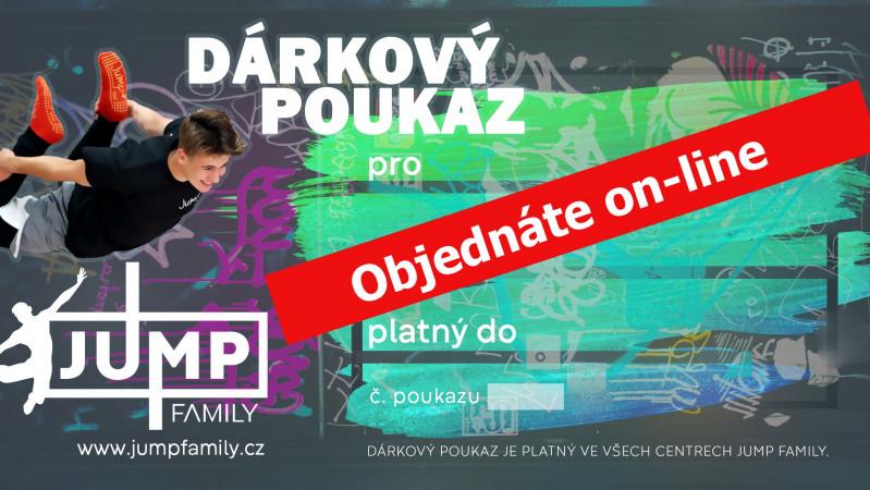 DÁRKOVÉ POUKAZY / PERMANENTKY