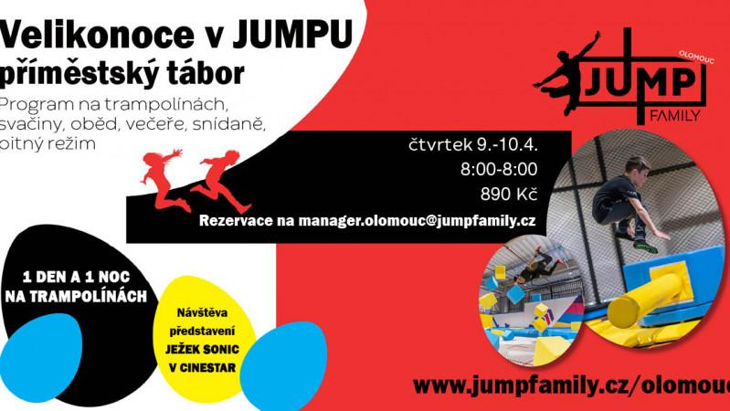 Zažij nevšedních 24h s táborem JumpFamily