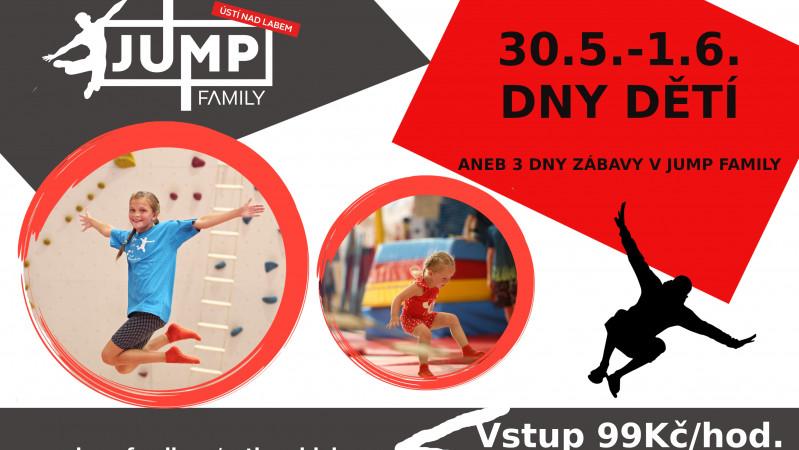 Dny dětí v JUMP FAMILY