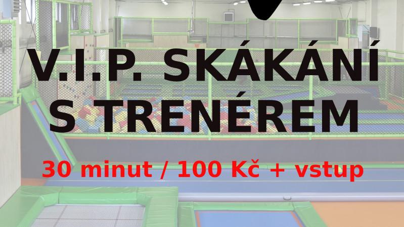 AKCE - VIP TRÉNINK S TRENÉREM - JEN ZA 100 KČ
