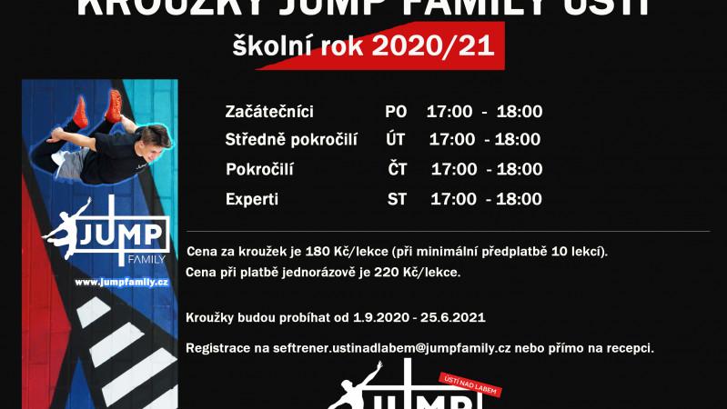 Kroužky školní rok 2020/21