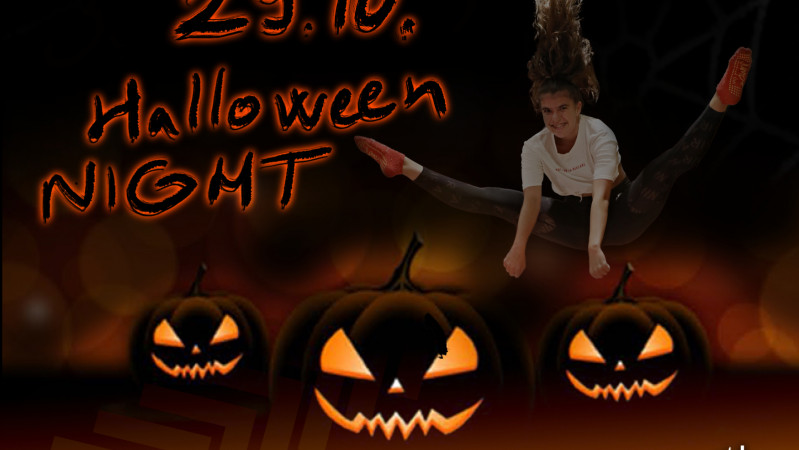Halloweenská přespávačka