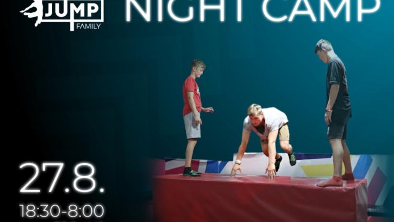Night camp opět na scéně!