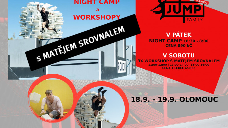 Night Camp s Matějem Srovnalem